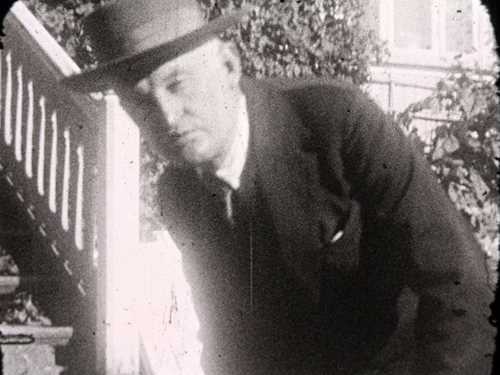 Frame from Edvard Munch's film, 1927. © Munchmuseet