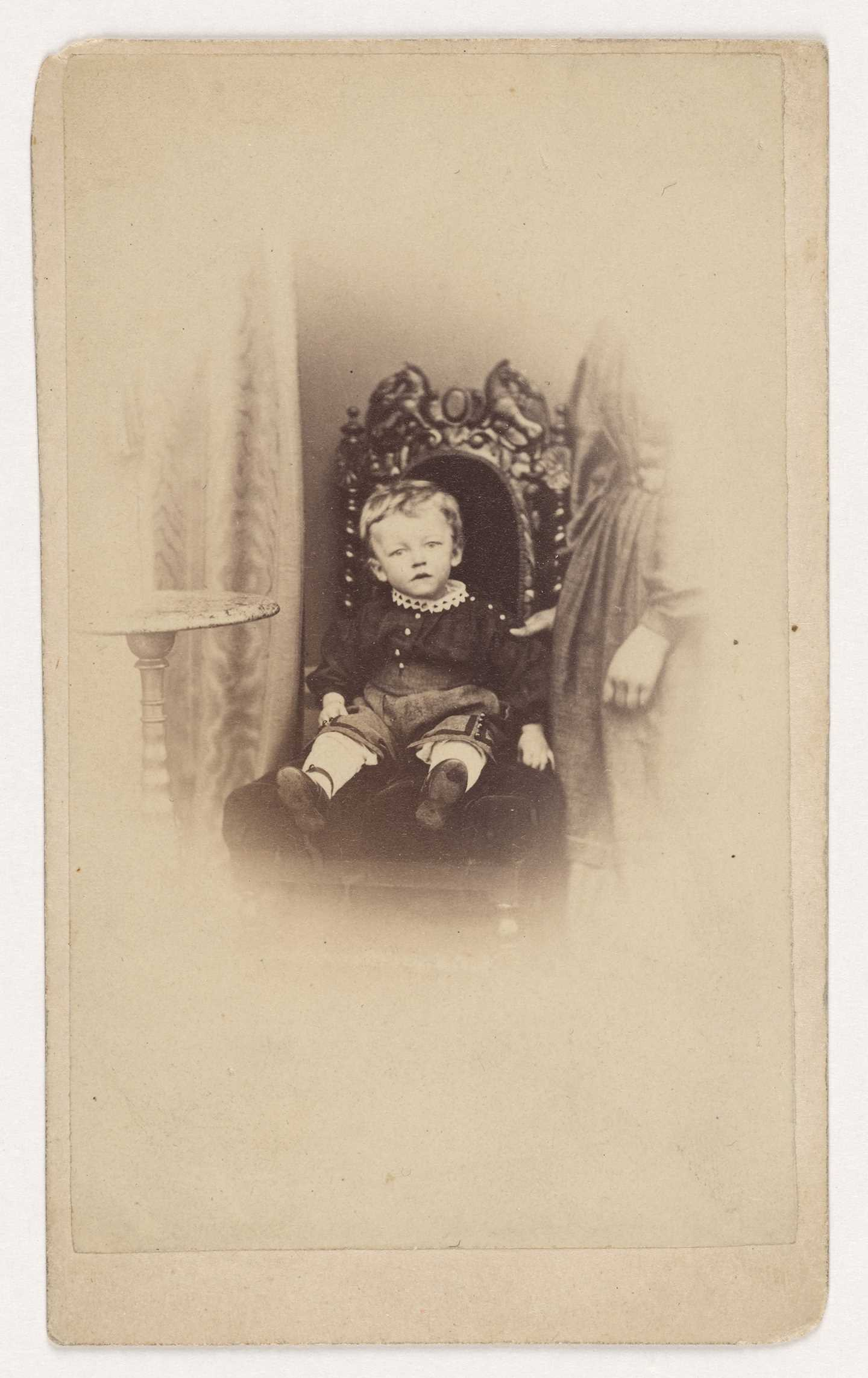 Edvard Munch as a child, 1864, Photo © Munchmuseet