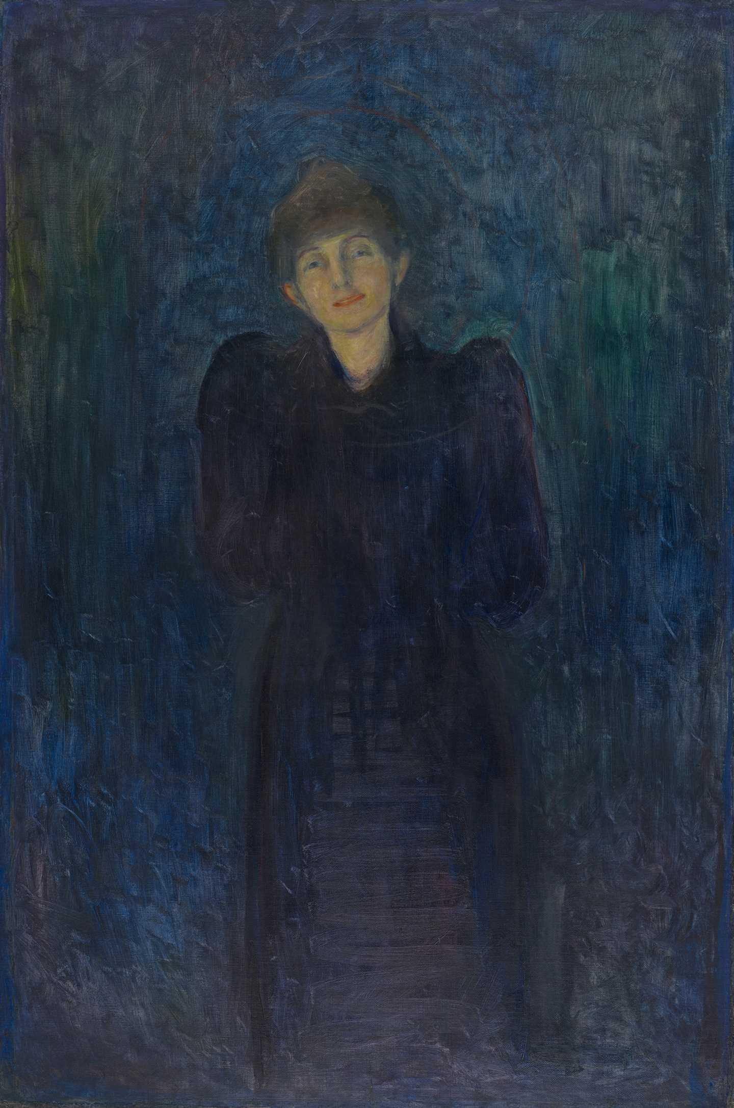 Edvard Munch: Dagny Juel Przybyszewska. Oil(?) on canvas, 1893. Photo © Munchmuseet