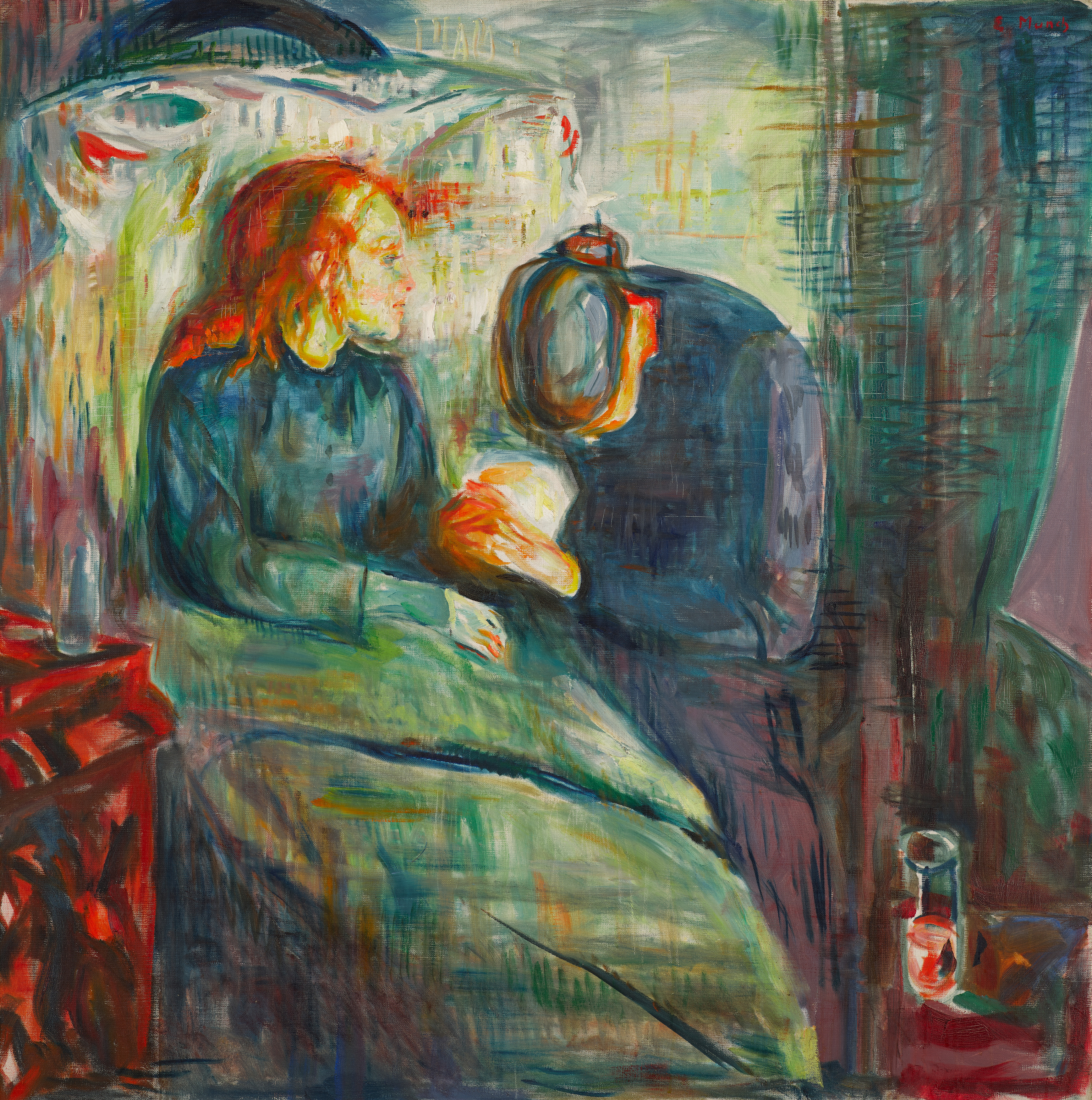 Edvard Munch: The Sick Child. Oil on canvas, 1925. Photo: Munchmuseet