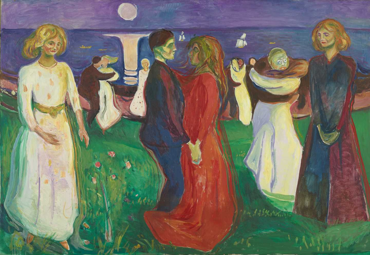 Edvard Munch: The Dance of Life. Oil on canvas, 1925. Photo © Munchmuseet