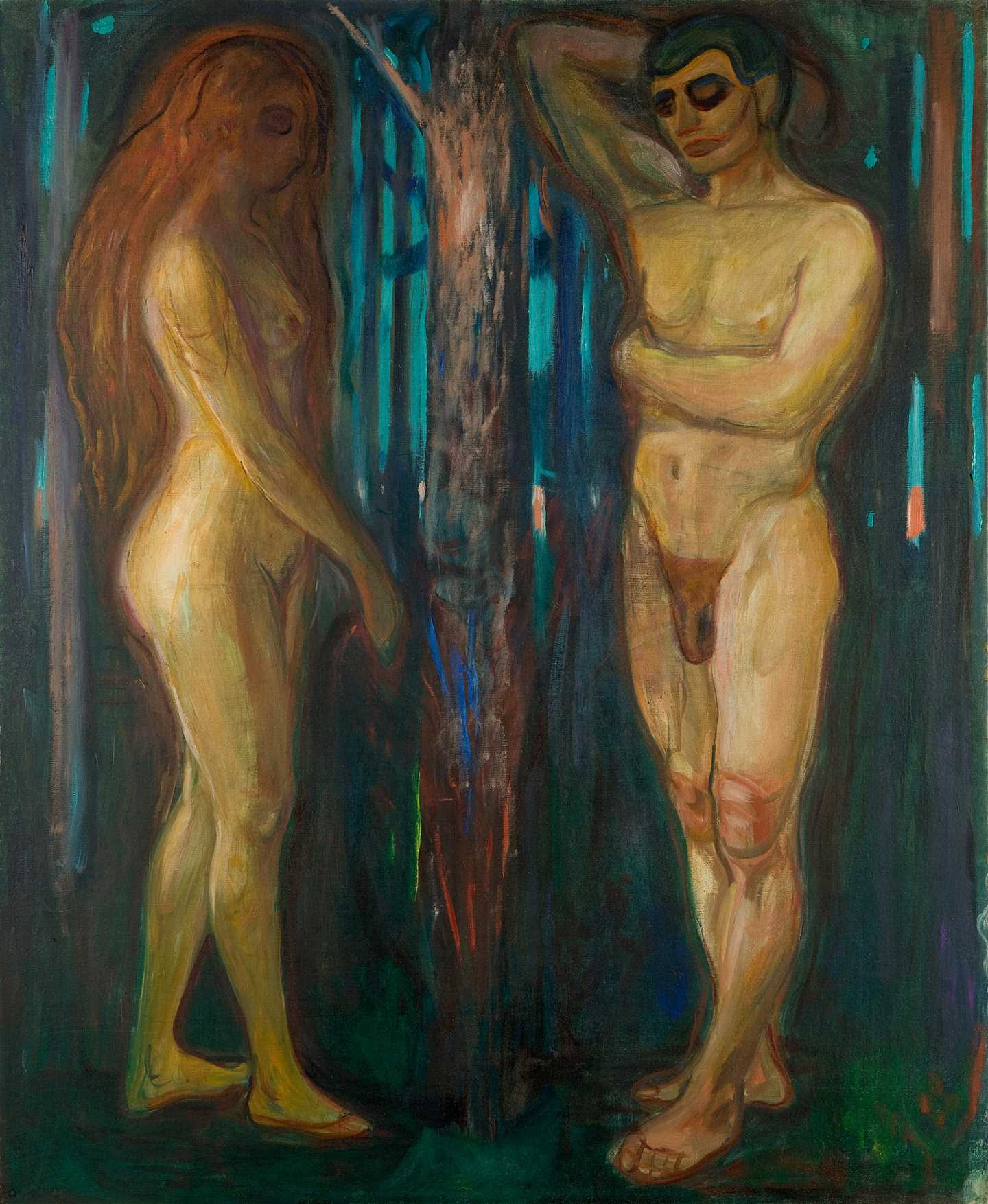 Edvard Munch: Metabolism. Oil on canvas, 1898–1899. Photo © Munchmuseet