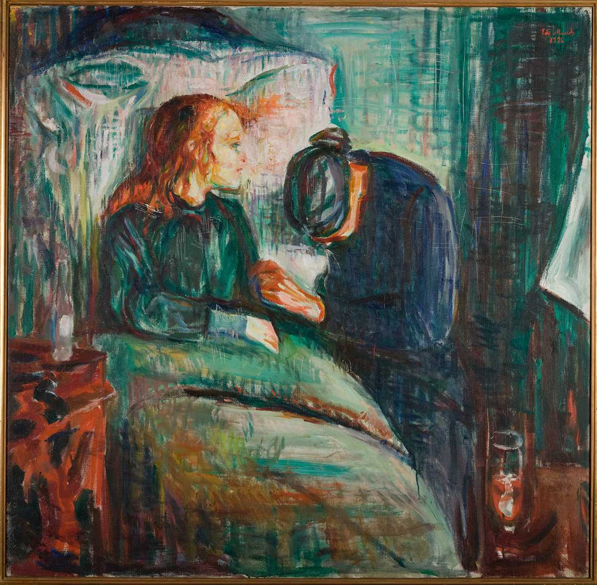 Edvard Munch: The Sick Child. Oil on canvas, 1927. Photo © Munchmuseet