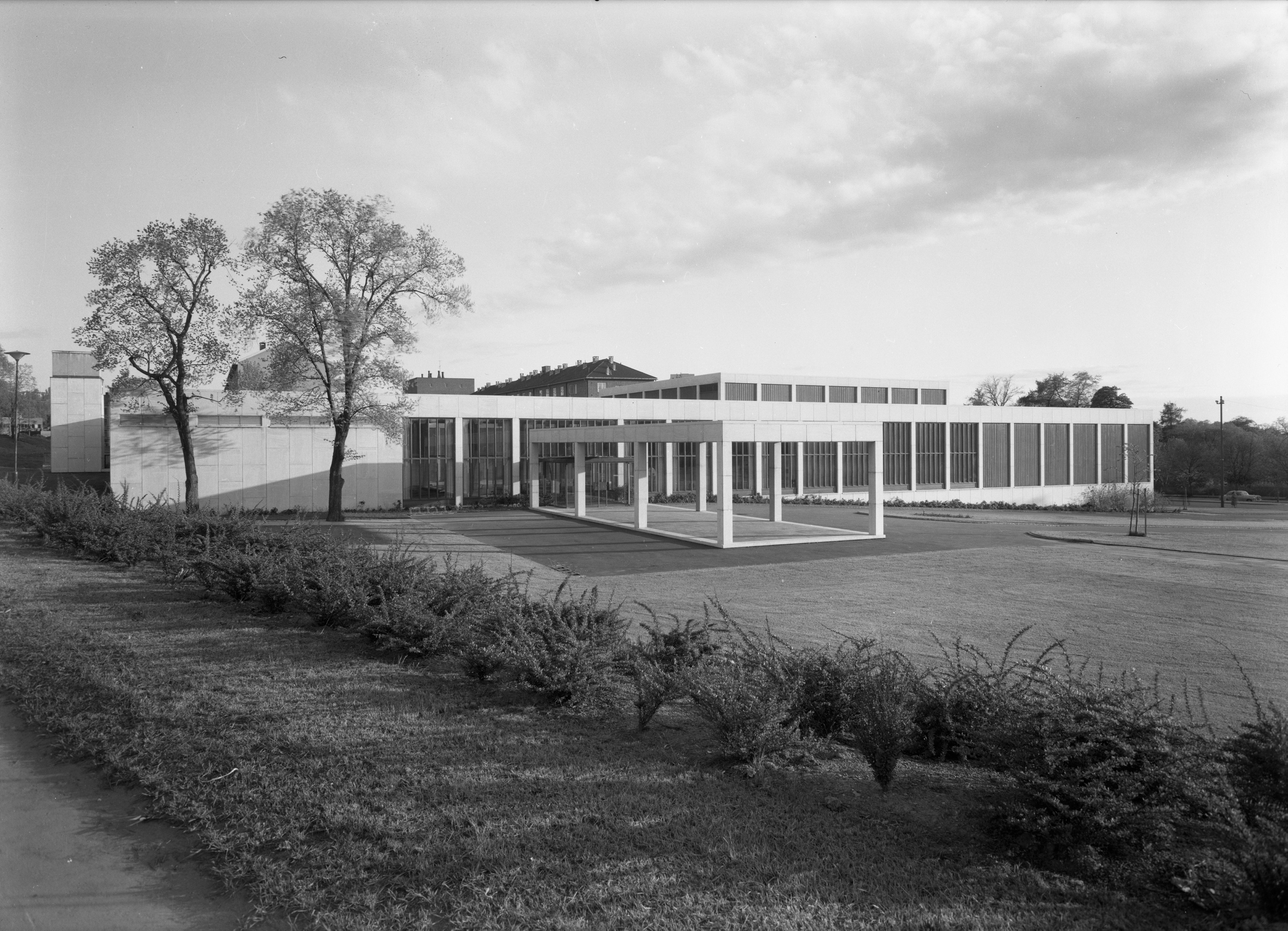 The Museum at Tøyen at its opening in 1962. Photo @ Munchmuseet
